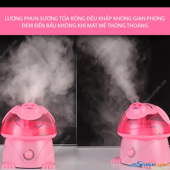 Máy phun sương tạo ẩm Magic Home ( heo hồng )