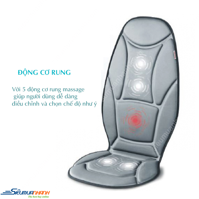 Đệm massage Beurer MG155