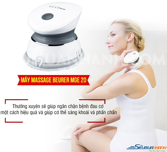 Máy massage mini Spa Beurer MGE 20