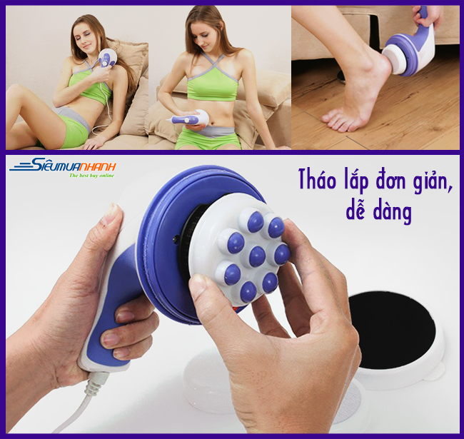 Máy massage cầm tay Relax & Spin Tone