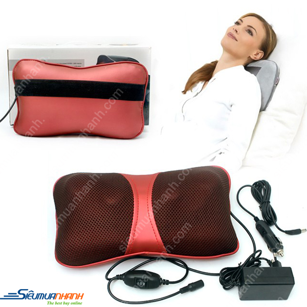 Gối Massage Hồng Ngoại Magic Energy Pillow Puli Pl818